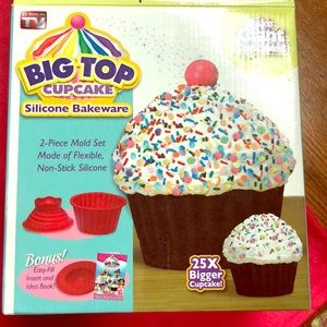 BIG TOP CUPCAKE STAND SILICONE BAKEWARE 🍭🍬🍭